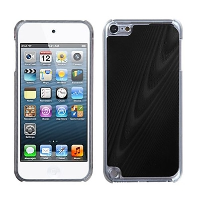 Insten® Cosmo Back Protector Cover For iPod Touch 5th Gen, Black