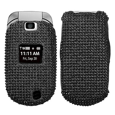 Insten® Diamante Protector Cover For LG VN150, Black