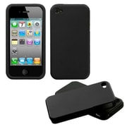 Insten® Fusion Rubberized Faceplate Cases F/iPhone 4/4/4SG