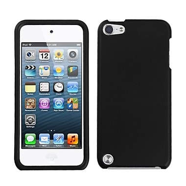 Insten® Rubberized Protector Cover For iPod Touch 5th Gen, Black