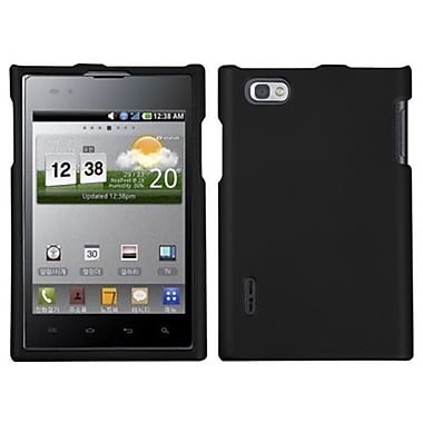 Insten® Protector Case For LG VS950 Optimus Vu, Black