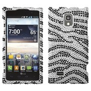 Insten® Diamante Protector Covers For LG VS930 Spectrum 2