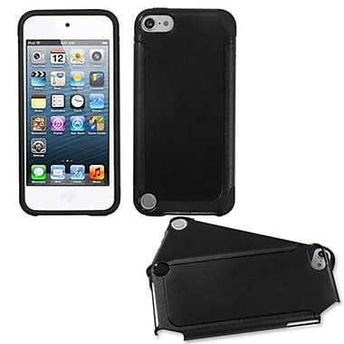 Insten® Fusion Hybrid Cover For iPod Touch 5th Gen, Black