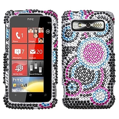 Insten® Diamante Protector Cover For HTC Trophy, Bubble