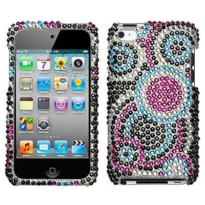 Insten® Diamante Protector Cover For iPod Touch 4th Gen, Bubble