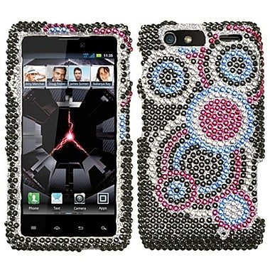 Insten® Diamante Protector Covers For Motorola XT912M Droid RAZR Maxx