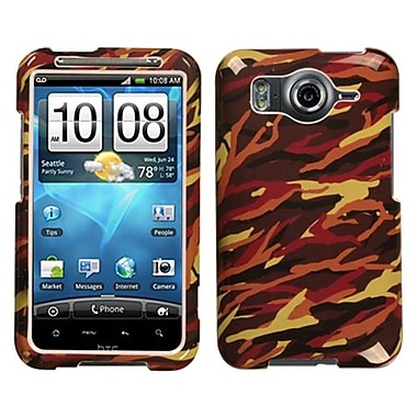 Insten® Protector Case For HTC Inspire, Yellow Camo