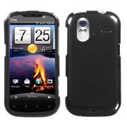 Insten® Protector Case For HTC Amaze 4G, Carbon Fiber