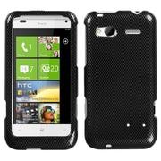 Insten® Protector Case For HTC Radar 4G, Carbon Fiber