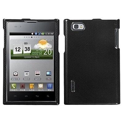 Insten® Protector Cover For LG VS950 Optimus Vu/VS950 Intuition, Carbon Fiber