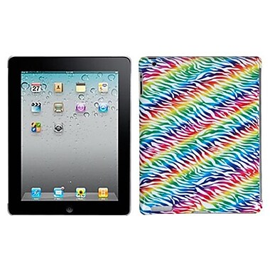 Insten® Back Protector Cover For iPad 2/3/4; Colorful Zebra (1015723)