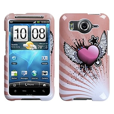 Insten® Protector Case For HTC Inspire 4G, Crowned Heart