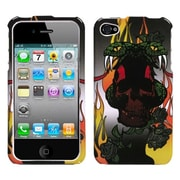 Insten® Phone Protector Cover F/iPhone 4/4S, Fire Snake
