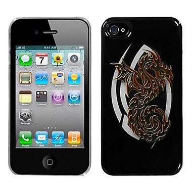 Insten® Back Protector Cover F/iPhone 4/4S, Firebrand Dragon Dream