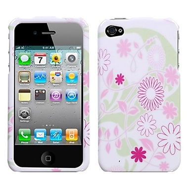 Insten Phone Protector Cover For iPhone 4/4S, Floral Garden (1016022)