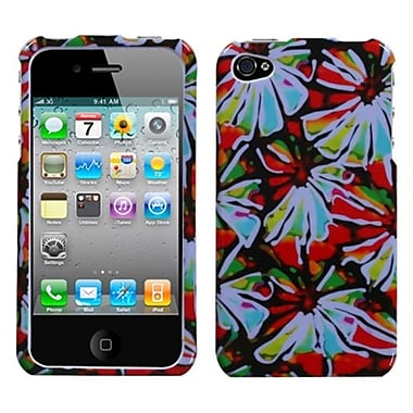 Insten® Phone Protector Cover F/iPhone 4/4S, Flower Power