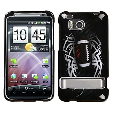 Insten® Protector Case For HTC ADR6400 ThunderBolt, Football