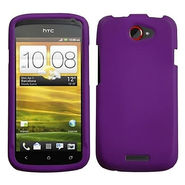 Insten® Protector Case For HTC-One S, Grape