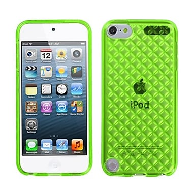 Insten® Diamond Candy Skin Cover For iPod Touch 5th Gen, Green