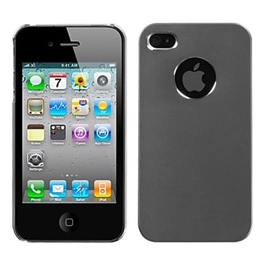 Insten Cosmo Protector Cover With Package For iPhone 4/4S, Gray (1016120)