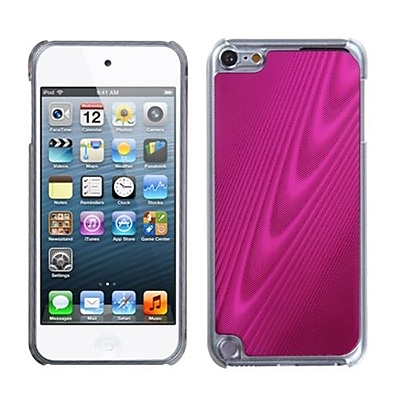 Insten® Cosmo Back Protector Cover For iPod Touch 5th Gen, Hot-Pink