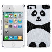 Insten® Hard Phone Protector Case For iPhone 4/4S, Playful Panda