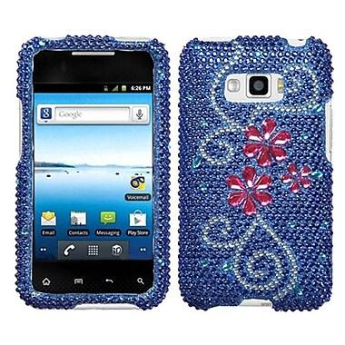Insten® Diamante Protector Case For LG LS696 Optimus Elite/VM696 Optimus Elite, Juicy Flower