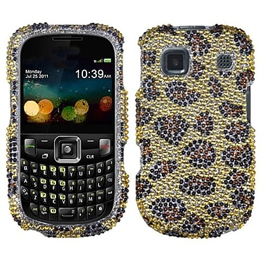 Insten Diamante Protector Case For ZTE Z431, Leopard/Camel (1016676)