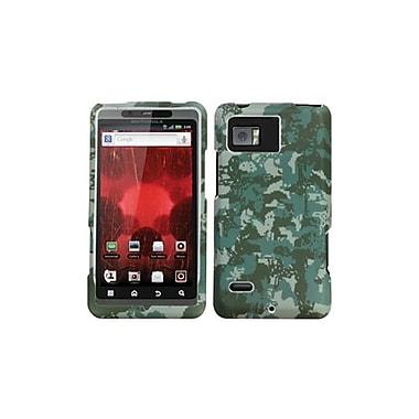 Insten® Protector Case For Motorola XT875 Droid Bionic, Green Lizzo Digital Camo
