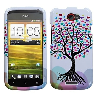 Insten® Protector Case For HTC-One S, Love Tree