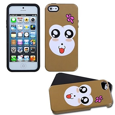 Insten® Fusion Protector Cover F/iPhone 5/5S, Monkey Joy