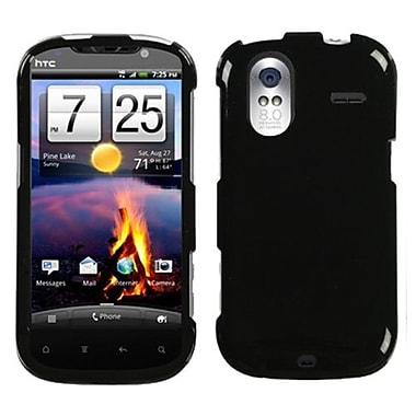 Insten® Protector Case For HTC Amaze 4G, Solid Black