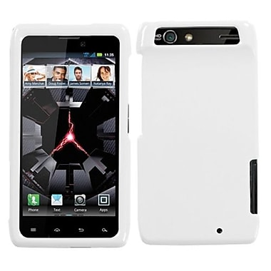 Insten® Protector Case For Motorola XT912 Droid RAZR, Solid Ivory White