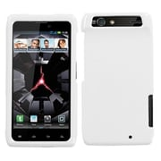 Insten® Protector Case For Motorola XT912 Droid RAZR, Natural Ivory White