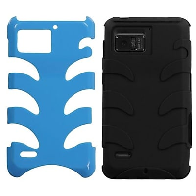 Insten® Protector Case For Motorola XT875 Droid Bionic; Natural Turquoise Fishbone