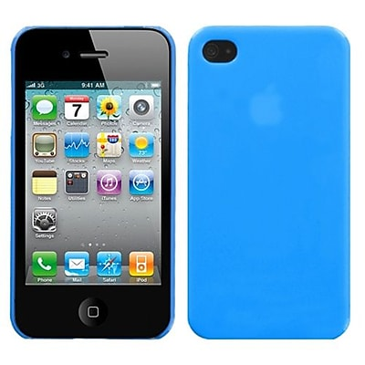 Insten® Phone Back Protector Cover F/iPhone 4/4S; Natural Turquoise