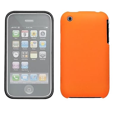 Insten Phone Protector Cover With Lens For iPhone 3G/3GS, Orange (1017096)