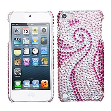 Insten Diamante Back Protector Cover For iPod Touch 5th Gen, Phoenix Tail (1017132)