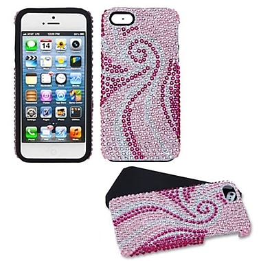 Insten® Diamante Fusion Protector Cover F/iPhone 5/5S, Phoenix Tail