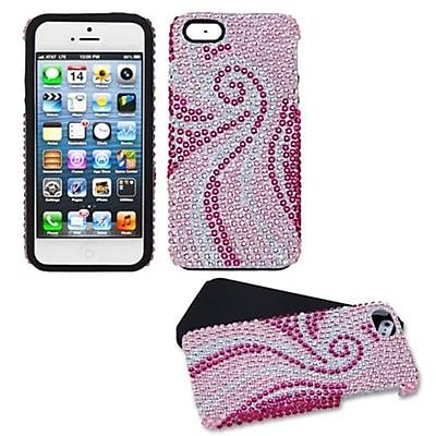 Insten® Diamante Fusion Protector Cover F/iPhone 5/5S; Phoenix Tail
