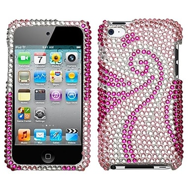 Insten Diamante Protector Cover For iPod Touch 4th Gen, Phoenix Tail (1017156)