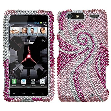 Insten Diamante Protector Cover For Motorola XT912M Droid RAZR Maxx, Phoenix Tail (1017166)