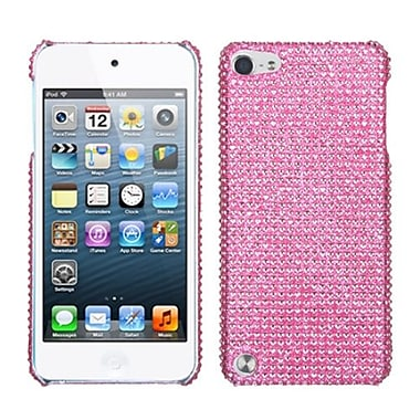 Insten Diamante Back Protector Cover For iPod Touch 5th Gen, Pink (1017190)