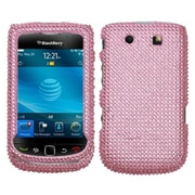 Insten Diamante Protector Case For RIM BlackBerry 9800/9810, Pink by