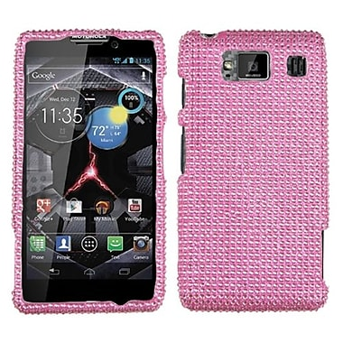 Insten Diamante Protector Case For Motorola XT926W Droid RAZR HD, Pink (1017231)