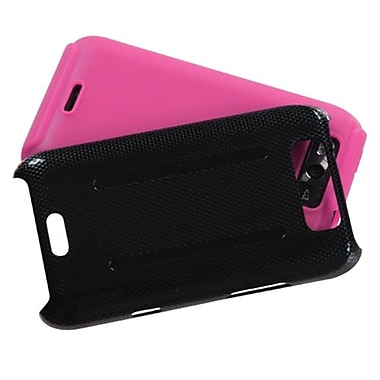 Insten® Protector Cover For LG MS840 Connect 4G/LS840 Viper, Pink Inverse Fusion