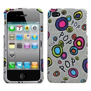 Insten® Phone Protector Cover F/iPhone 4/4S, Pop Candy Sparkle