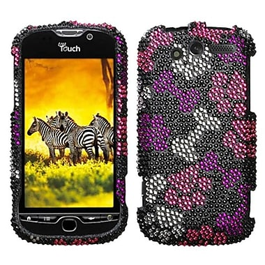 Insten® Diamante Protector Case For HTC myTouch 4G, Puppy Lover