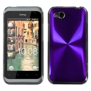 Insten® Back Protector Cover For HTC ADR6330 Rhyme; Purple Cosmo