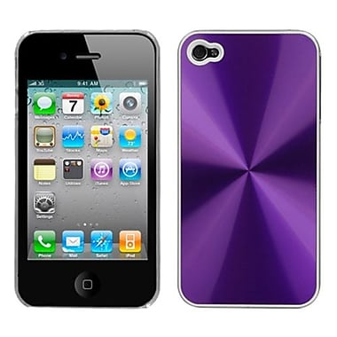 Insten Cosmo Back Protector Cover For iPhone 4/4S, Purple (1017444)